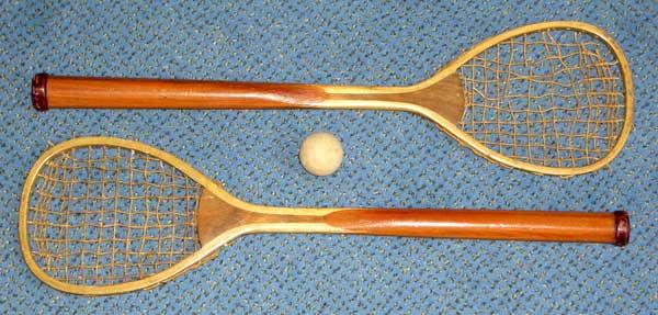 Eerste tafeltennisballetjes en tafeltennisbatjes