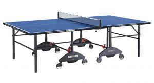 De enorm sterke Kettler tafeltennistafel voor outdoor gebruik