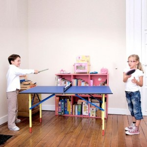 Ping pong is goedkoop speelgoed voor kinderen