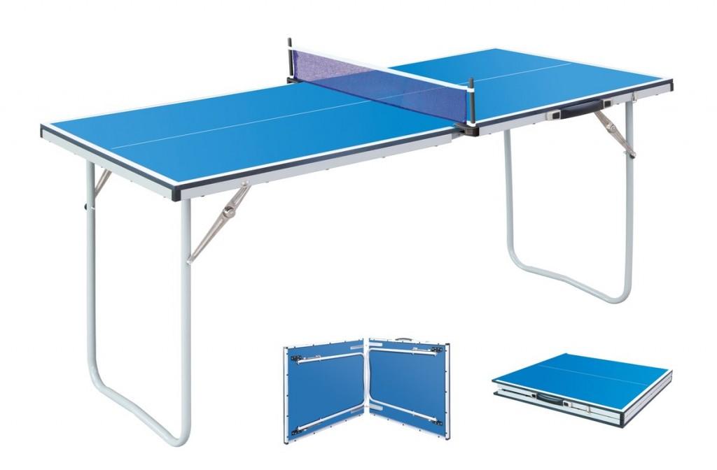 Kleine tafeltennistafel voor op de camping