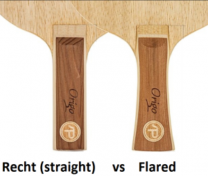 type-greep-tafeltennis-batje-recht-straight-flared